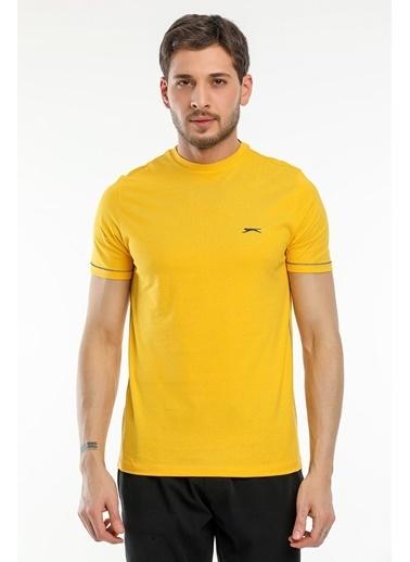 Slazenger Slazenger MOPET Erkek T-Shirt  Sarı